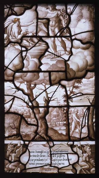 Histoire de Psyché (28) : Vénus, sur son nuage, donne à Mercure, le messager des dieux, l'ordre de retrouver Psyché