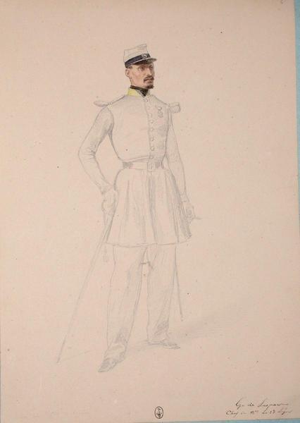 Gn. de Lespar, chef de bataillon au 13e Léger ; Siège de Rome de 1849 (en 3 tomes)_0