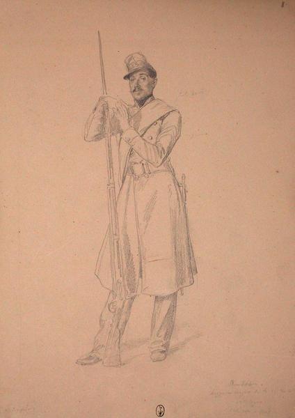 Rondeau, sergent-major au 13e Léger ; Siège de Rome de 1849 (en 3 tomes)_0