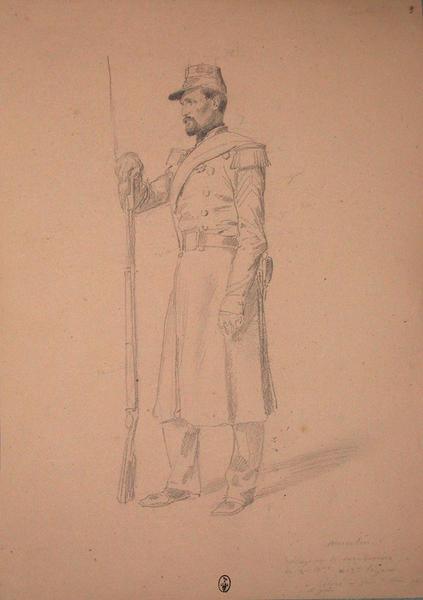 Marcelin, sergent des carabiniers du 2ème bataillon, du 13e Léger ; Siège de Rome de 1849 (en 3 tomes)