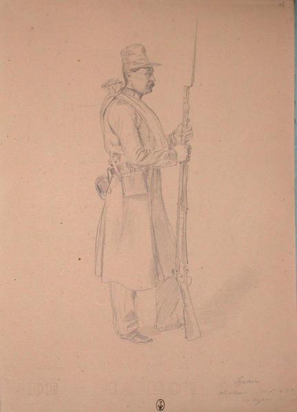Hanin, chasseur 1ère compagnie, 2e bataillon du 13e Léger ; Siège de Rome de 1849 (en 3 tomes)_0