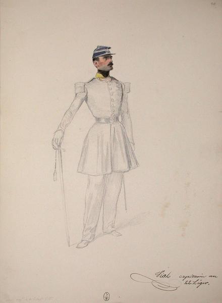 Vial, capitaine au 22e Léger ; Siège de Rome de 1849 (en 3 tomes)