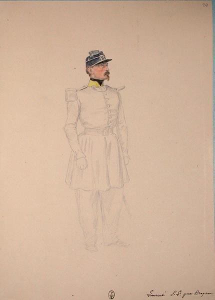 Laurent sous-lieutenant porte drapeau ; Siège de Rome de 1849 (en 3 tomes)_0