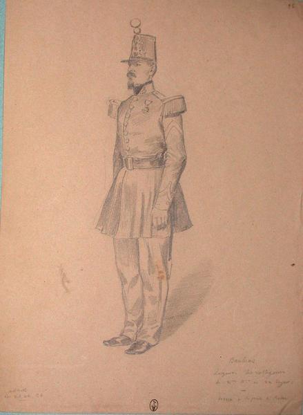 Banbras, sergent des voltigeurs du 2e bataillon au 22e Léger ; Siège de Rome de 1849 (en 3 tomes)_0