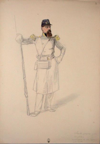 Claude (Pierre, Jean, Théophile) voltigeur au 22e Léger, 2e bataillon ; Siège de Rome de 1849 (en 3 tomes)_0