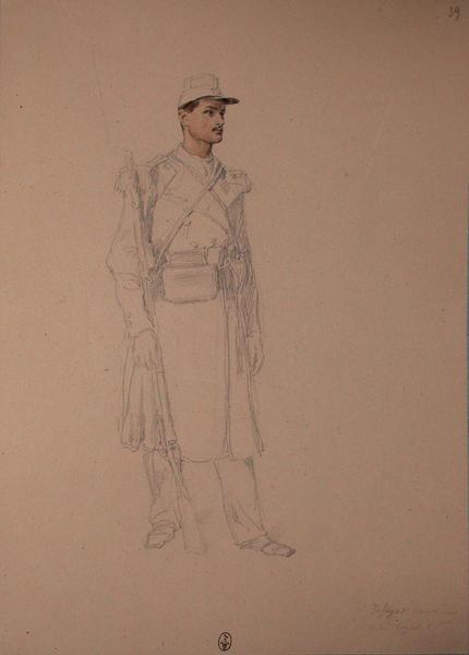 Dufayot, carabinier, 22e Léger, 1er bataillon ; Siège de Rome de 1849 (en 3 tomes)_0