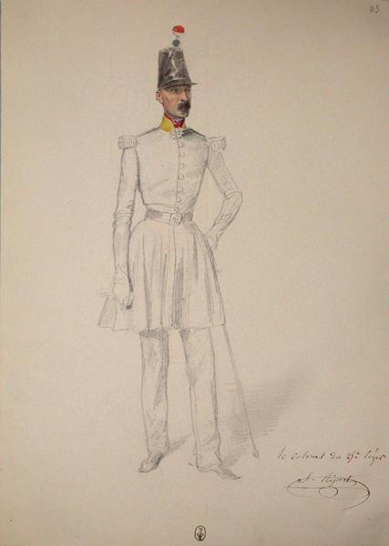 Ripert S. colonel du 25e Léger ; Siège de Rome de 1849 (en 3 tomes)_0