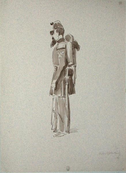 Sapeur (chasseur) ; Siège de Rome de 1849 (en 3 tomes)_0