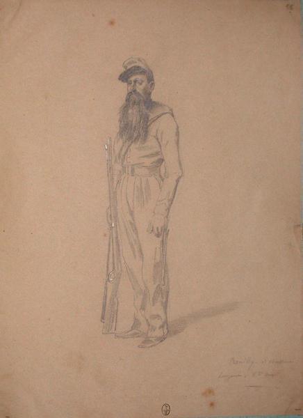 Rouilly, 1er bataillon de chasseurs, sergent 5e compagnie ; Siège de Rome de 1849 (en 3 tomes)_0