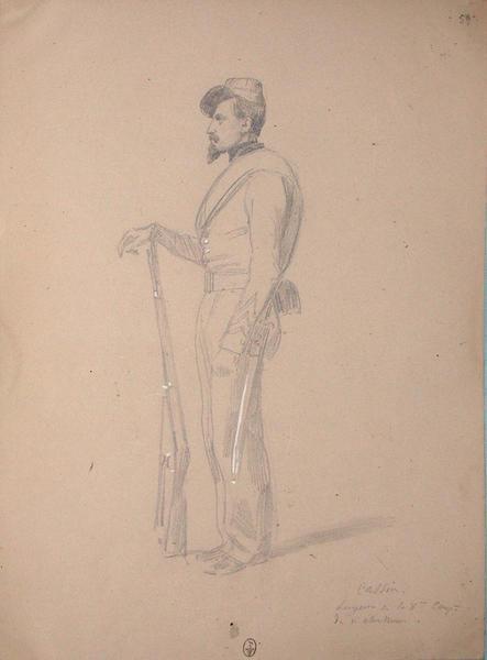 Cassin, sergent de la 8e compagnie du 1er bataillon de chasseurs ; Siège de Rome de 1849 (en 3 tomes)