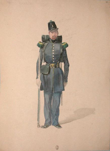 Chasseur, 1er Bataillon ; Siège de Rome de 1849 (en 3 tomes)