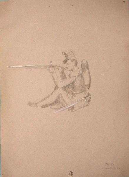 Chasseur en embuscade ; Siège de Rome de 1849 (en 3 tomes)