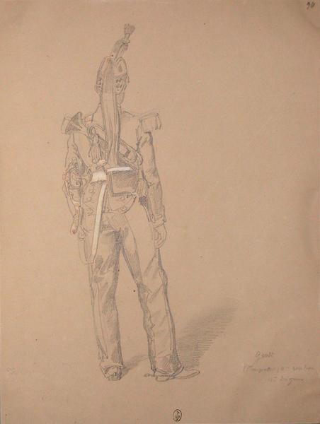 Gerst (trompette), 3e escadron, 11e dragon ; Siège de Rome de 1849 (en 3 tomes)_0