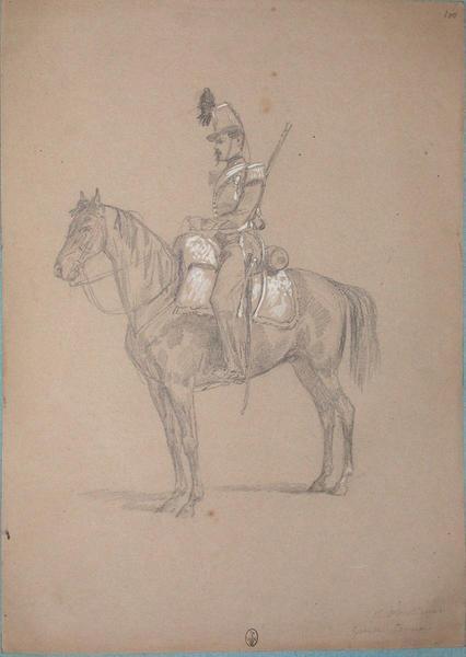 1er chasseur, grande tenue ; Siège de Rome de 1849 (en 3 tomes)_0