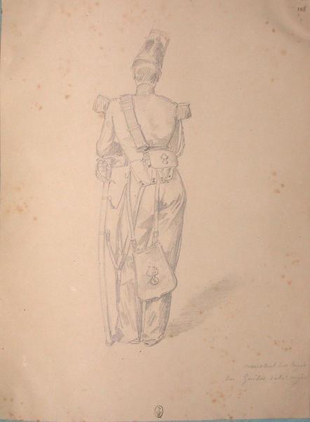 Maréchal des logis des guides d'état-major ; Siège de Rome de 1849 (en 3 tomes)_0
