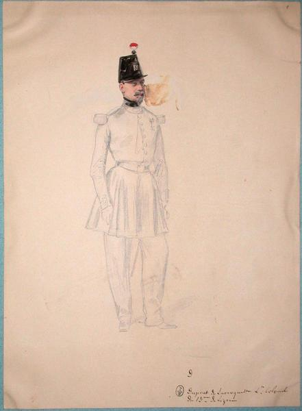 Duprat de Larroquette, lieutenant colonel du 13e de ligne ; Siège de Rome de 1849 (en 3 tomes)