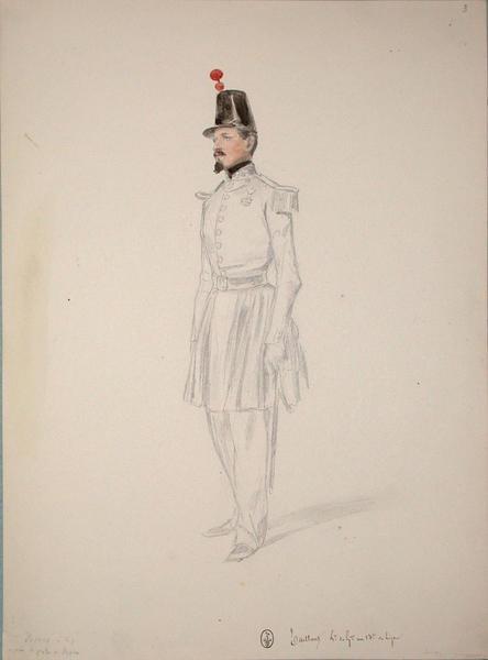 Taillant, lieutenant de garnison au 13e de ligne ; Siège de Rome de 1849 (en 3 tomes)_0