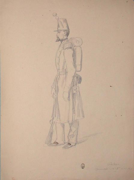 Odehier, grenadier au 2e bataillon du 13e de ligne ; Siège de Rome de 1849 (en 3 tomes)_0