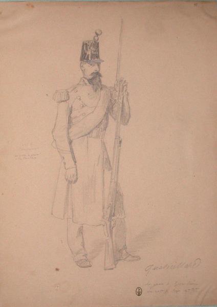 Oucheillard, sergent de grenadiers au 20e de ligne, 2e bataillon ; Siège de Rome de 1849 (en 3 tomes)_0