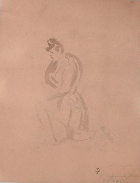 Mr Gouget sous-officier du Génie (v. l'épée) ; Siège de Rome de 1849 (en 3 tomes)_0