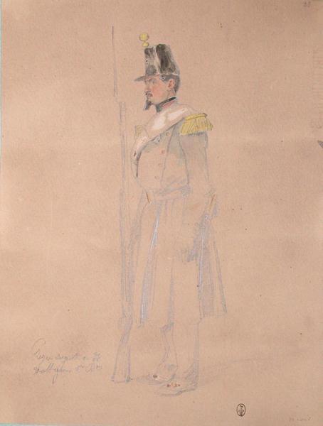 Perie, sergent au 33e voltigeur, 1er bataillon ; Siège de Rome de 1849 (en 3 tomes)_0