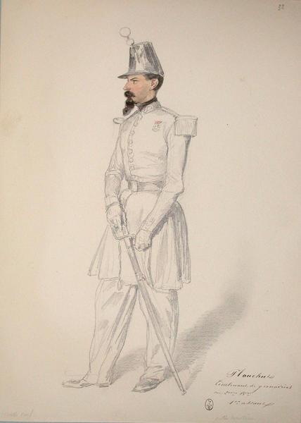 Planchut, lieutenant de grenadiers au 2e bataillon, 1er assaut ; Siège de Rome de 1849 (en 3 tomes)_0