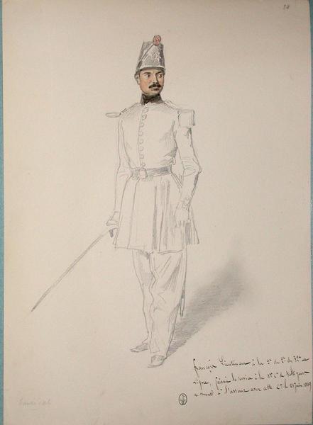 François, lieutenant à la 2e du 32e de ligne, faisait le service à la 1ère compagnie de voltigeurs, a monté à l'assaut avec cette compagnie le 21 juin 1849 ; Siège de Rome de 1849 (en 3 tomes)_0