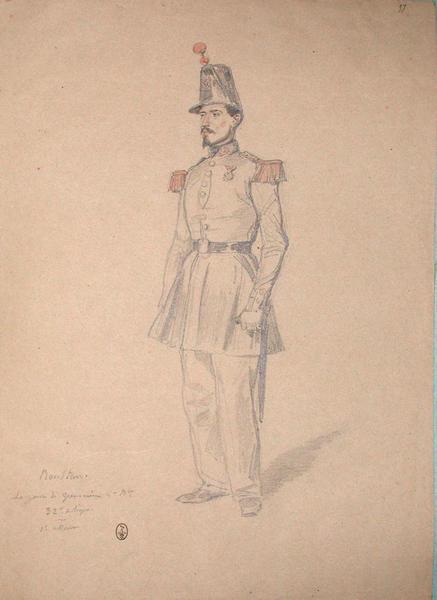 Ronstan, sergent de grenadier, 2e bataillon, 32e de ligne, 1er assaut ; Siège de Rome de 1849 (en 3 tomes)