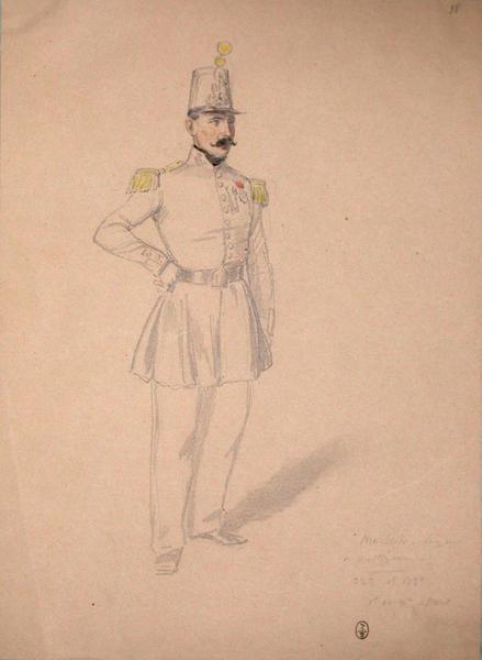 Maisch, sergent des voltigeurs 32e, 1er bataillon, 1et et 2e assauts ; Siège de Rome de 1849 (en 3 tomes)_0