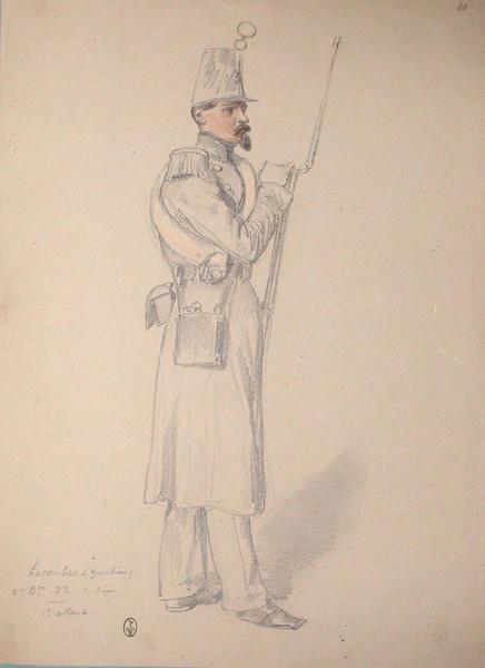 Lacombes (grenadier) 2e bataillon, 32e de ligne, 2e assaut ; Siège de Rome de 1849 (en 3 tomes)_0