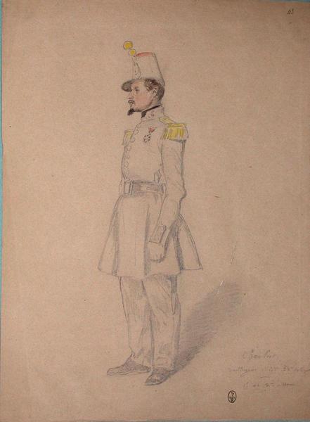 Cherlut, voltigeur, 1er bataillon, 32e de ligne, 1er et 2e assaut ; Siège de Rome de 1849 (en 3 tomes)_0