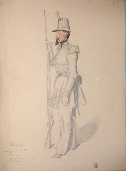 Dumail, voltigeur, 2e bataillon, 32e de ligne, 2e assaut ; Siège de Rome de 1849 (en 3 tomes)_0