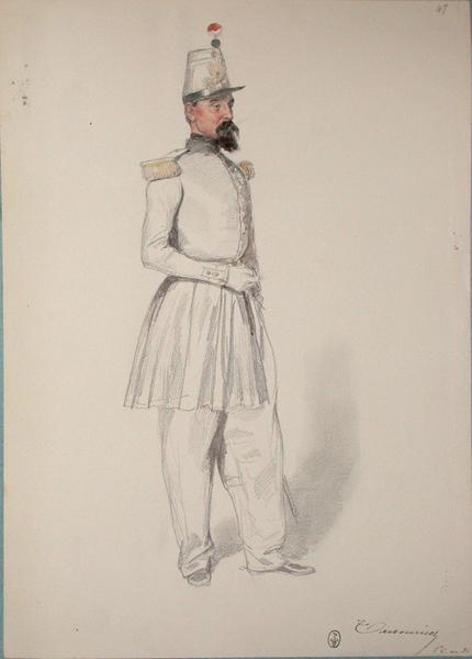 Tarbouriech, lieutenant colonel au 36e ; Siège de Rome de 1849 (en 3 tomes)_0