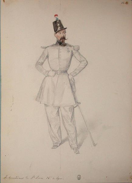Le commandant de Saint Marie, 36e de ligne ; Siège de Rome de 1849 (en 3 tomes)_0