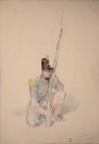 Figuet, caporal de voltigeurs au 36e 3e bataillon, assaut du 21 et 22 ; Siège de Rome de 1849 (en 3 tomes)