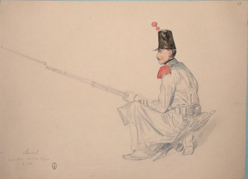 Chudel, grenadier 36e de ligne, 3e bataillon ; Siège de Rome de 1849 (en 3 tomes)_0