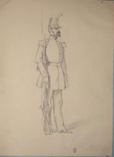 Lemaire, 2e bataillon, voltigeur ; Siège de Rome de 1849 (en 3 tomes)_0