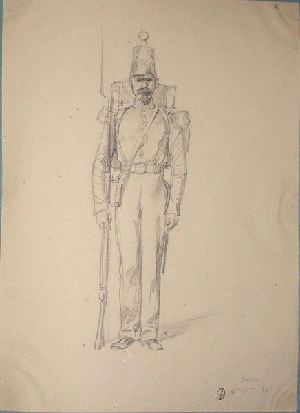 Smith, 2e bataillon, 30e ; Siège de Rome de 1849 (en 3 tomes)_0