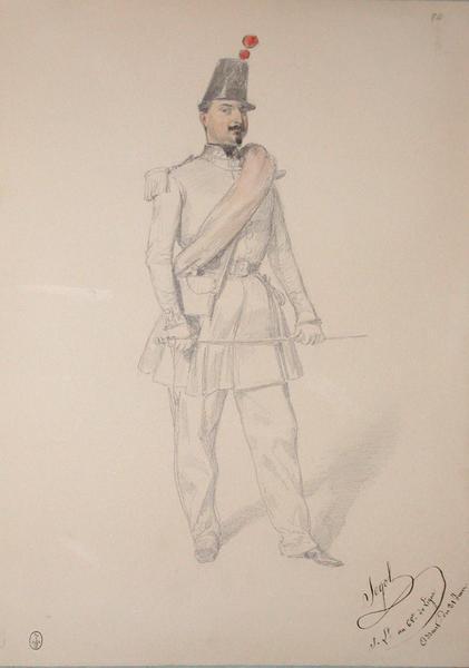 Segol, sous-lieutenant au 68e de ligne, assaut du 21 juin ; Siège de Rome de 1849 (en 3 tomes)