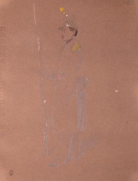 Laval, sergent major, 2e bataillon, voltigeur. Assaut du 30, 1849 ; Siège de Rome de 1849 (en 3 tomes)_0