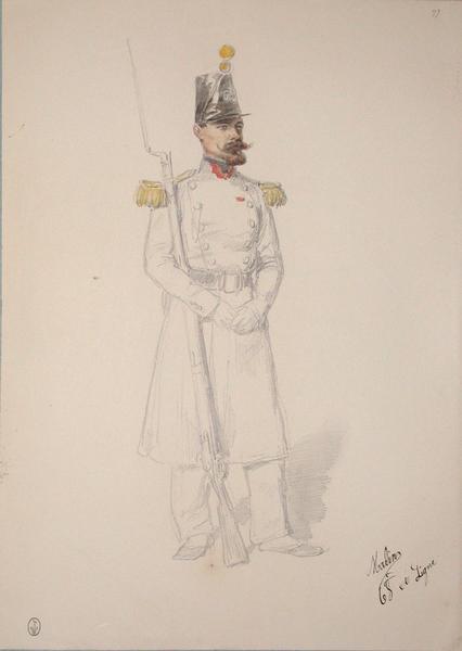 Malin, 68e de ligne ; Siège de Rome de 1849 (en 3 tomes)_0
