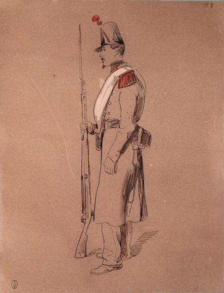 Charles, grenadier au 2e bataillon du 68e, assaut du 21, 1849 ; Siège de Rome de 1849 (en 3 tomes)_0
