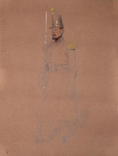 Durninger, voltigeur, 2e bataillon du 68e, 2e assaut ; Siège de Rome de 1849 (en 3 tomes)_0