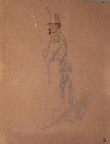 Labrotte, voltigeur du 2e bataillon du 68e, 2e assaut ; Siège de Rome de 1849 (en 3 tomes)_0