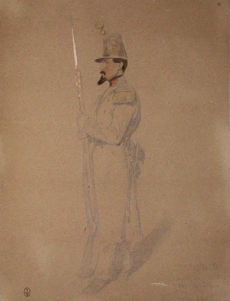 A. Bidard, voltigeur du 2e bataillon du 68e, 2e assaut ; Siège de Rome de 1849 (en 3 tomes)