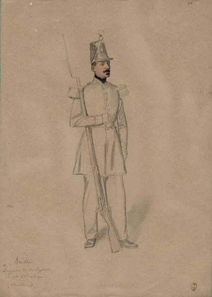 Moussin, sergent des voltigeurs, 2e bataillon, 53e de ligne (2e assaut) ; Siège de Rome de 1849 (en 3 tomes)