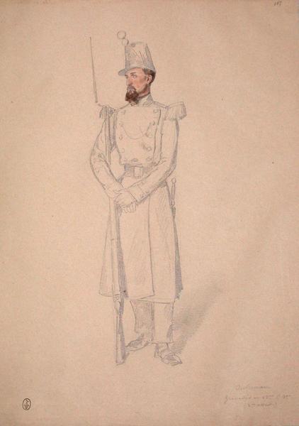Outreman, grenadier au 53e, 1er bataillon, 2e assaut ; Siège de Rome de 1849 (en 3 tomes)_0