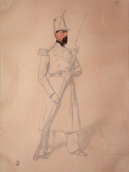 Dubosq, voltigeur au 53e, 2e bataillon, 2e assaut ; Siège de Rome de 1849 (en 3 tomes)_0
