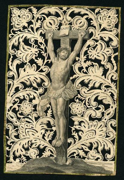 image pieuse : Crucifixion (titre factice)