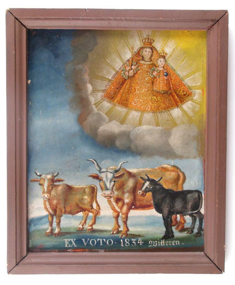 tableau : EX VOTO. 1834 (titre inscrit)